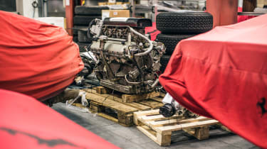 Ferrari Classiche - engine