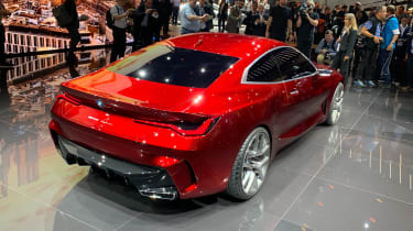 BMW Concept 4 - rear 3/4 static Frankfurt