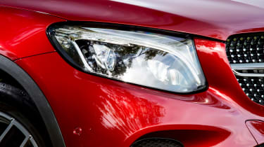 Mercedes GLC 250d Coupe - front light details