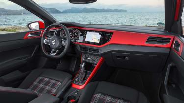 Volkswagen Polo GTI 2018 cabin