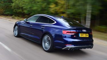 Audi S5 - rear