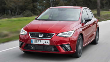 SEAT Ibiza FR 2017 - front tracking