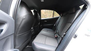 toyota corolla rear seats