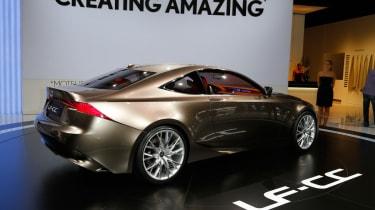 Lexus LF-CC rear