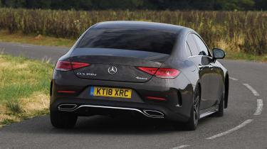 Mercedes CLS 350 d - rear cornering