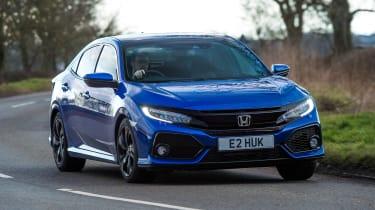 Honda Civic Diesel - front cornering