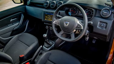 Dacia Duster - interior