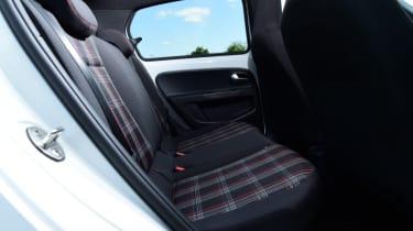 Volkswagen up! GTI rear seats