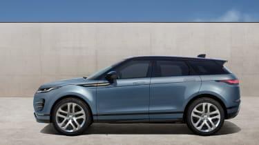 New 2019 Range Rover Evoque side
