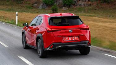 Lexus UX - rear