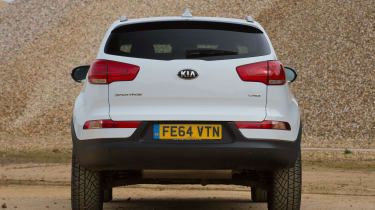 Used Kia Sportage Mk3 - full rear