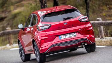 Ford Puma - rear cornering