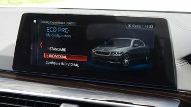 BMW 530e - drive select