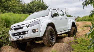 D-MAX Arctic Trucks AT35 - off-road