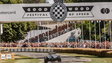 George Russell - Goodwood Festival of Speed hill climb