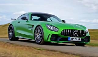 Mercedes AMG GT R - front