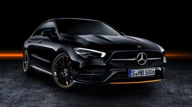 Mercedes CLA - studio front