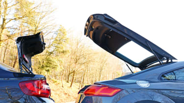 Audi TT Ultra - boots