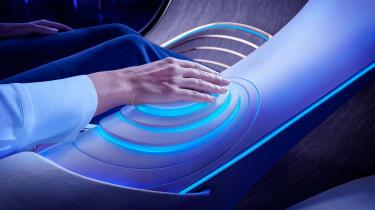 Mercedes Vision AVTR concept - controls