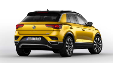 Volkswagen T-ROC - official rear