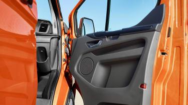 New 2017 Ford Transit Custom door insert