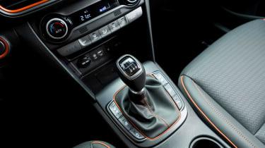 Hyundai Kona diesel - gear lever