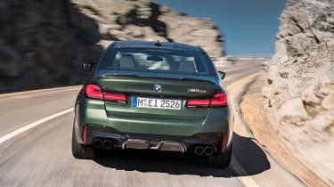 BMW M5 CS - full rear