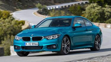 BMW 4 Series facelift 2017 - front cornering