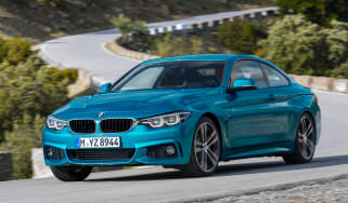 BMW 4 Series facelift 2017 - front cornering