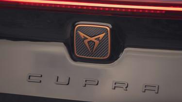 Cupra Formentor V1 - rear badge