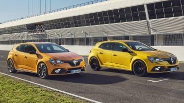 Renault Megane RS - side by side