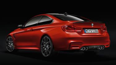 BMW 4 Series facelift 2017 - M4 rear quarter