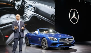 New Mercedes SL Roadster 2015 LA Show 2