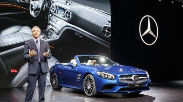 New Mercedes SL Roadster 2015 LA Show 2