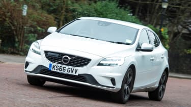 Volvo V40 long-term - first report front action