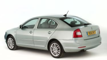 Used Skoda Octavia - rear