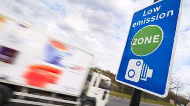 Low emissions zone