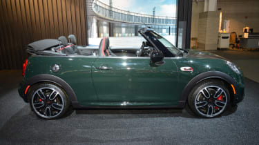 MINI John Cooper Works Convertible - New York side