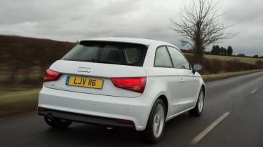 New Audi A1 2015 rear