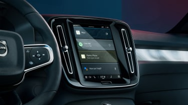 Volvo C40 Recharge - interior