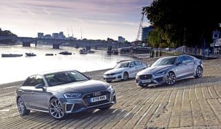 Audi A4 vs Jaguar XE vs BMW 3 Series