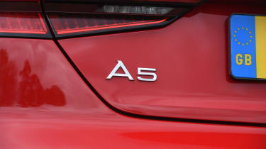 Audi A5 Cabriolet - A5 badge