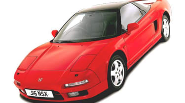 Front view of Honda NSX