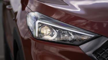 Hyundai Tucson N Line headlight