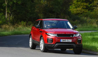 Range Rover Evoque SE Tech 2016 - cornering