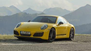 Porsche 911 Carrera T - front static