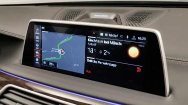 BMW 7 Series facelift - sat-nav