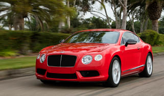 Bentley Continental GT V8 S coupe 2014 front tracking