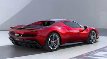 Ferrari 296 GTB - rear