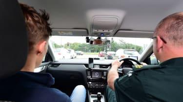 Ambulance feature - driving